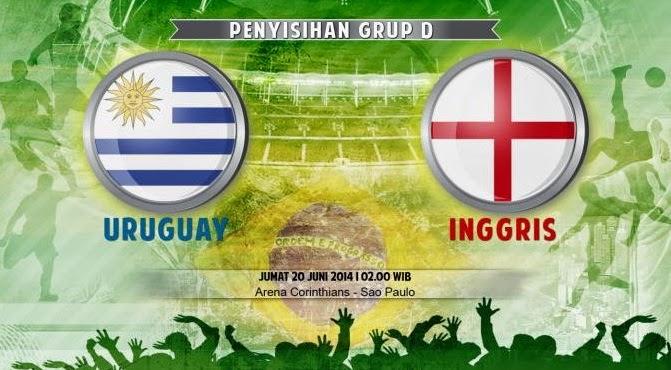 Uruguay vs Inggris Laga Krusial Kalah! Angkat Koper Dari Brazil