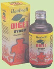 homoeopathic syrup for indigestion