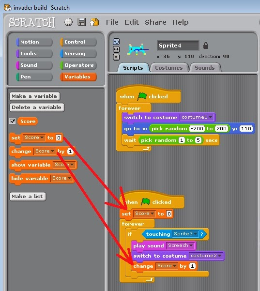 scratch how to make a sprite do maths