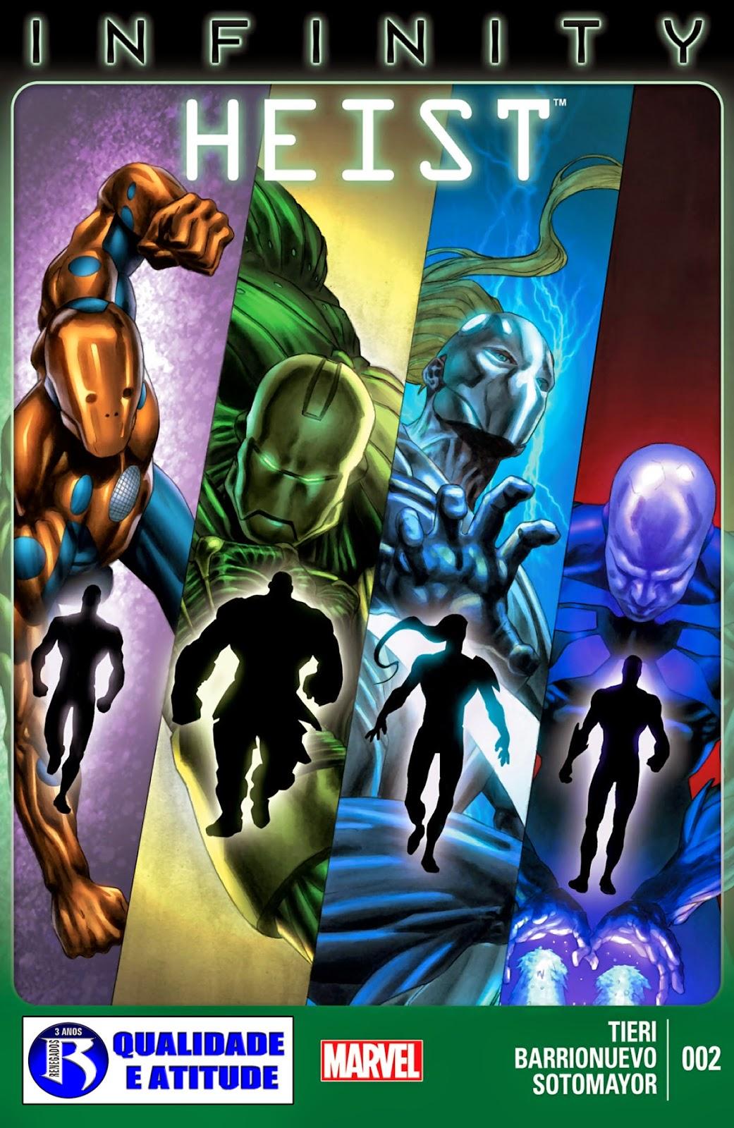 Nova Marvel! Infinito: O Golpe #2