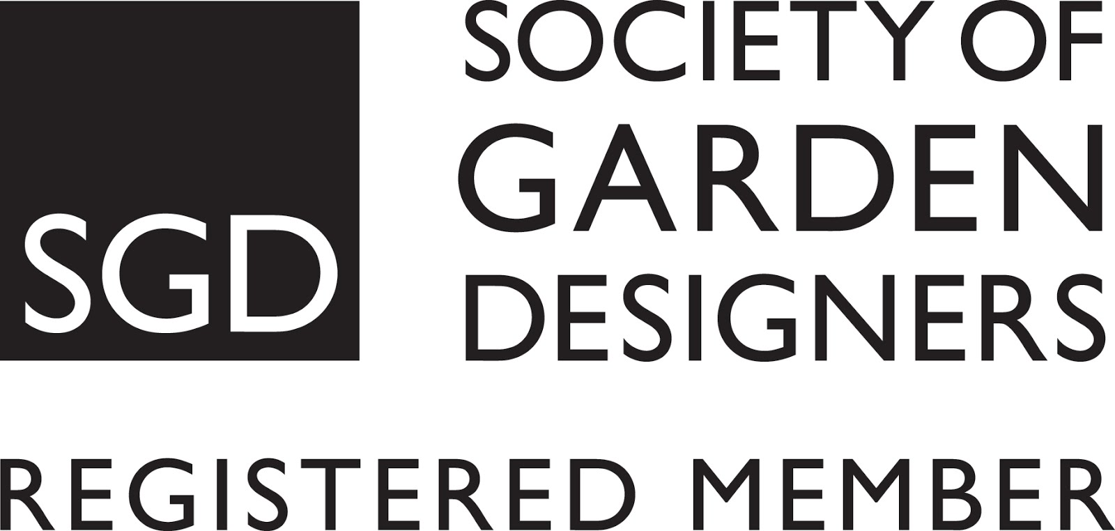 Now a registered member of the Society of Garden Designers