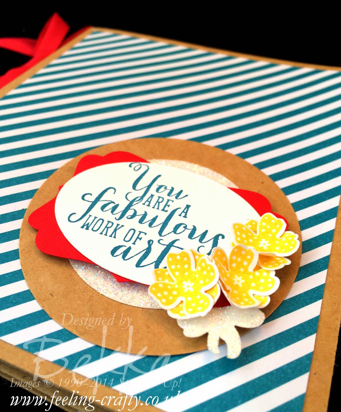 How to make a Bow from the Flower in the Itty Bitty Accents Punch - check out this blog for lots of cute ideas