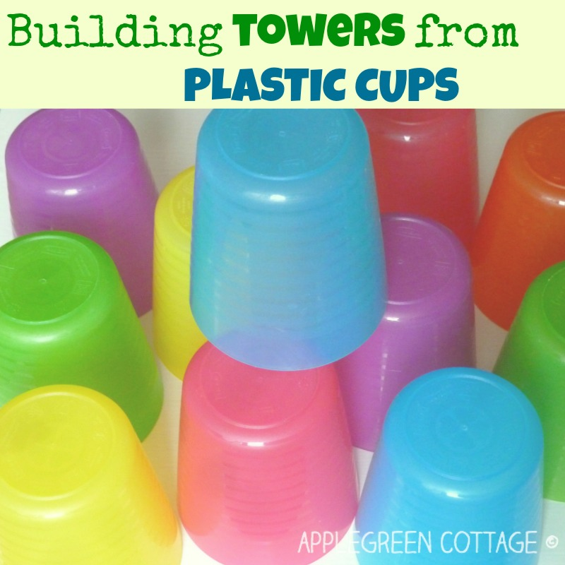 http://applegreencottage.blogspot.com/2014/11/toddler-play-ideas-plastic-cups.html
