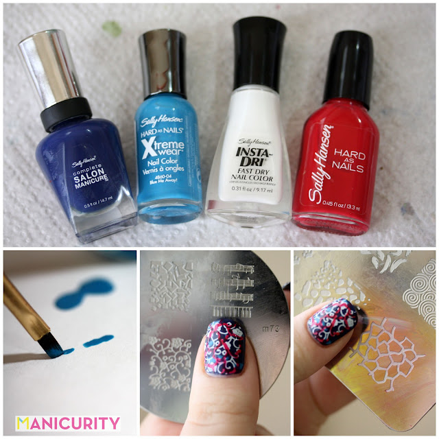 Manicurity | Opening Ceremony NYFW Spring 2014 nail art PICTORAL