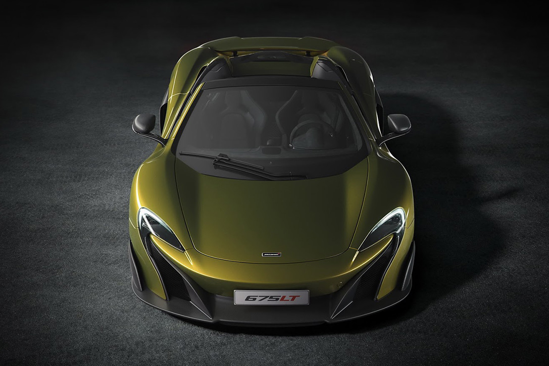 2017 McLaren 675LT Spider | INSPIRATIONS AREA