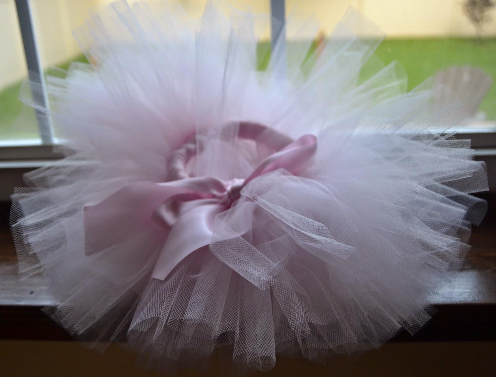Newborn pink tutu