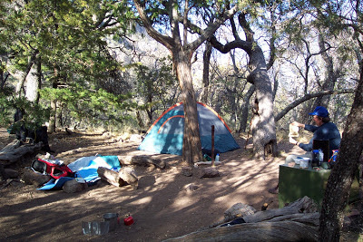 Boot Canyon Campground, Big Bend National Park Texas