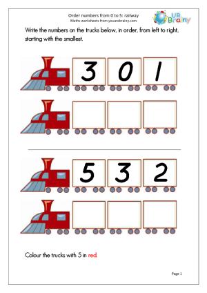 Math worksheet | روضة العلم للاطفال