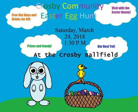 3-24 Crosby Easter Egg Hunt