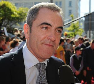 Irish actor James Nesbitt, star of