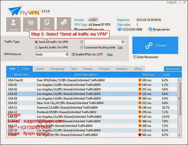 Le cinquième image de méthode d'utiliser le VPN gratuitement dans le système Windows.