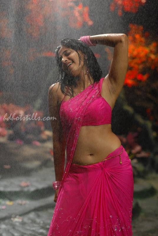 Karthika Nair Hot Navel In Saree Anushka Shetty H...