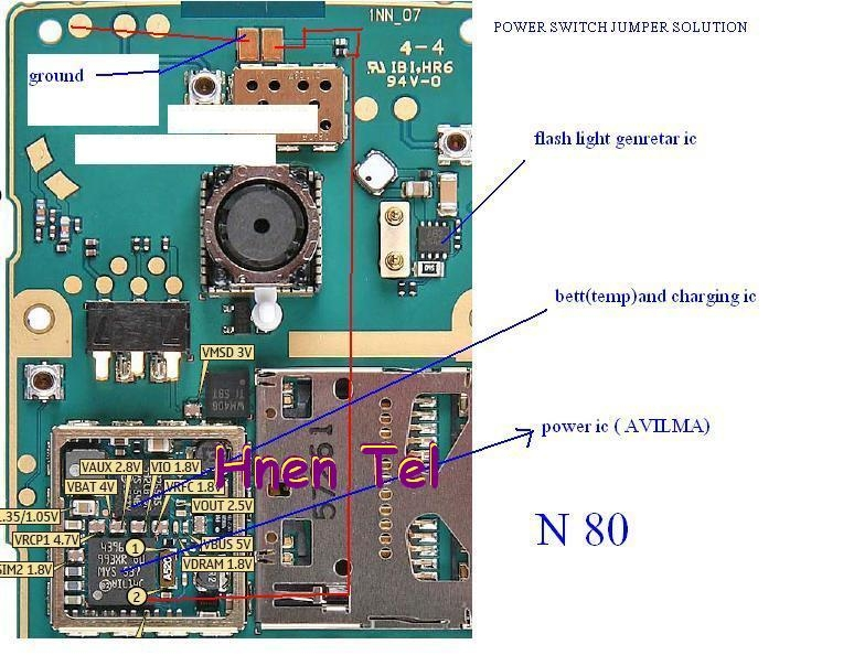 Cellfirmware  Nokia N80 Power Button On Off Switch Problem