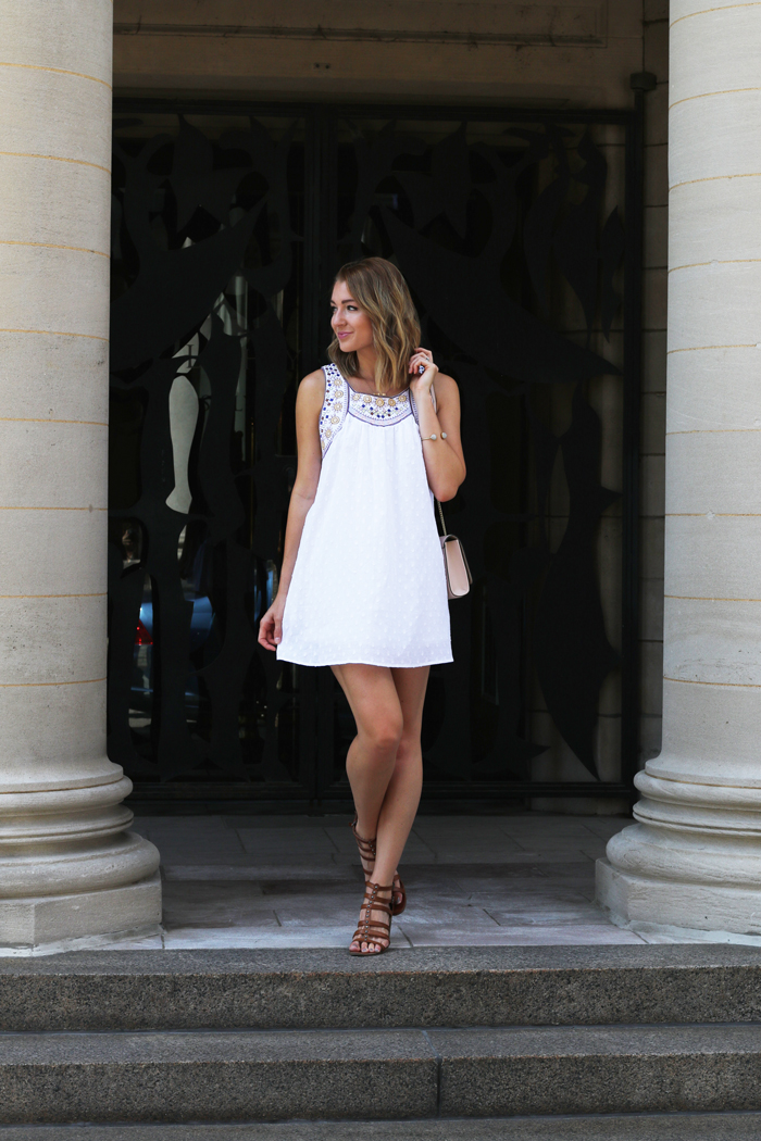 White sundress