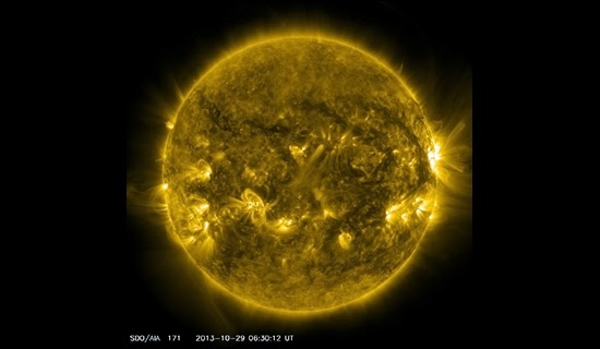 Badai Matahari Masih Berlanjut, Bahaya kah?