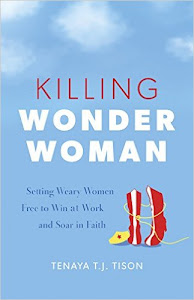 Giveaway - One Copy of Killing Wonder Woman by Tenaya T.J. Tison and t-shirt