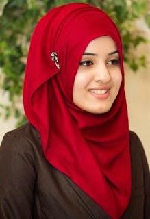 Hijab pasmina untuk kerja