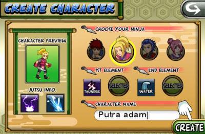 Ninja Saga V0.9.71 Mod Apk