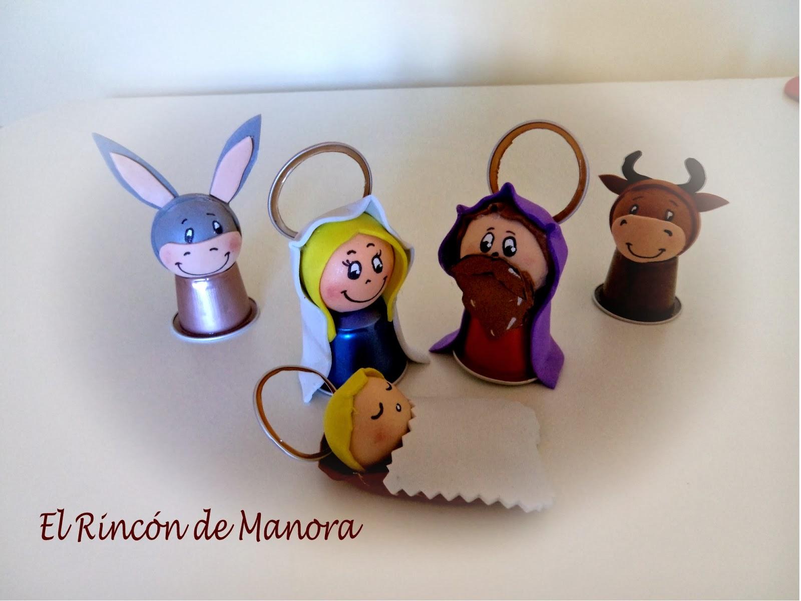 El rinc n de manora bel n con c psulas nespresso feliz for Manualidades para diciembre
