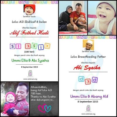 Ella Nurhayati, cerita emak-emak muda, stay at home mom, puisi untuk suami, perkembangan anak, hidup sehat dan hemat, emak-emak blogger, kataella.blogspot.com, mpasi, menyusui, breastfeeding, ASI