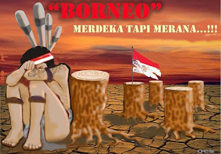 Boreno Merdeka tapi merana