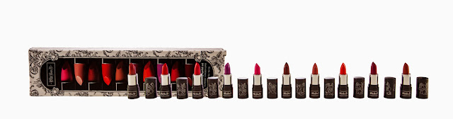 Sephora Kat Von D Spellbinding Lipstick Set Holiday 2013 Swatches