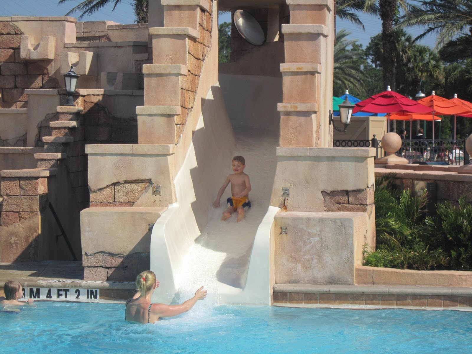 pool, water, kids, family vacation, Walt Disney World, Orlando, Florida