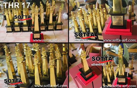 Kerajinan Kuningan,piala trophy, piala kuningan, piala penghargaan, piala bergilir, piala tetap, award,piala lomba, trophy kejuaraan