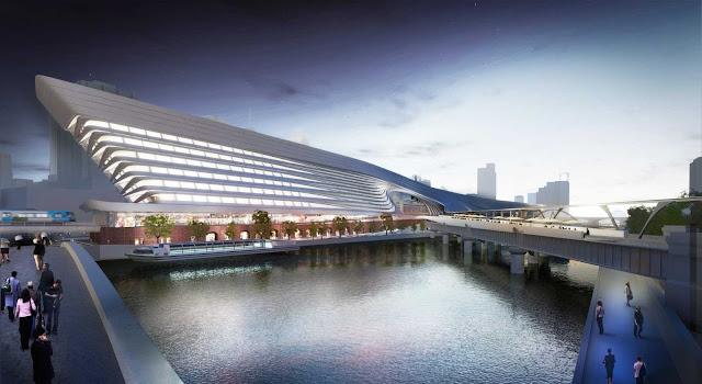 06-Flinders-Street-Station-Design-Competencia por Zaha-Hadid + BVN Architecture-