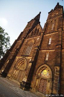 Pentax K-01 фото из Праги