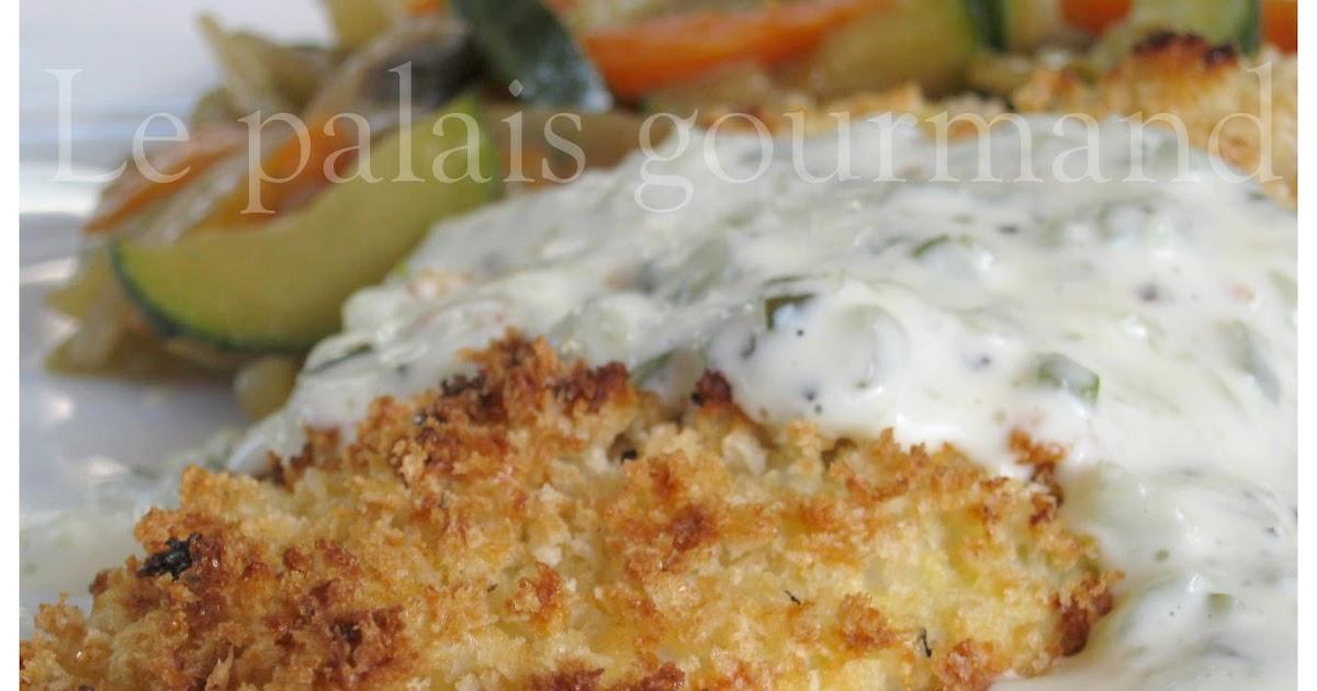 Filets de poissons panés panko, sauce tartare