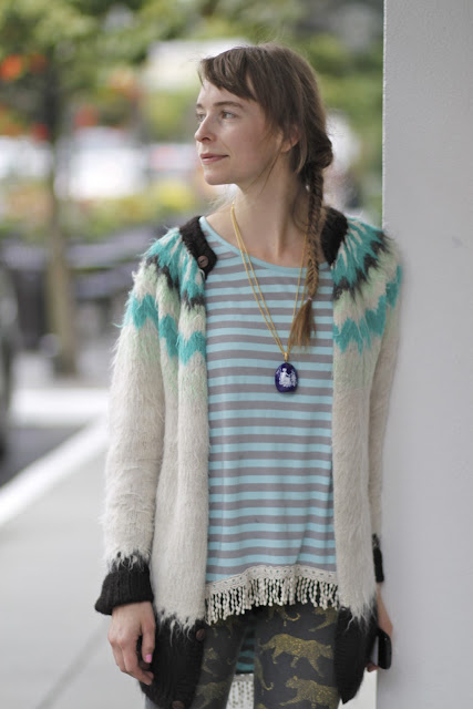Jessica Gring fishtail braid university Village seattle street style fashion it's my darlin'