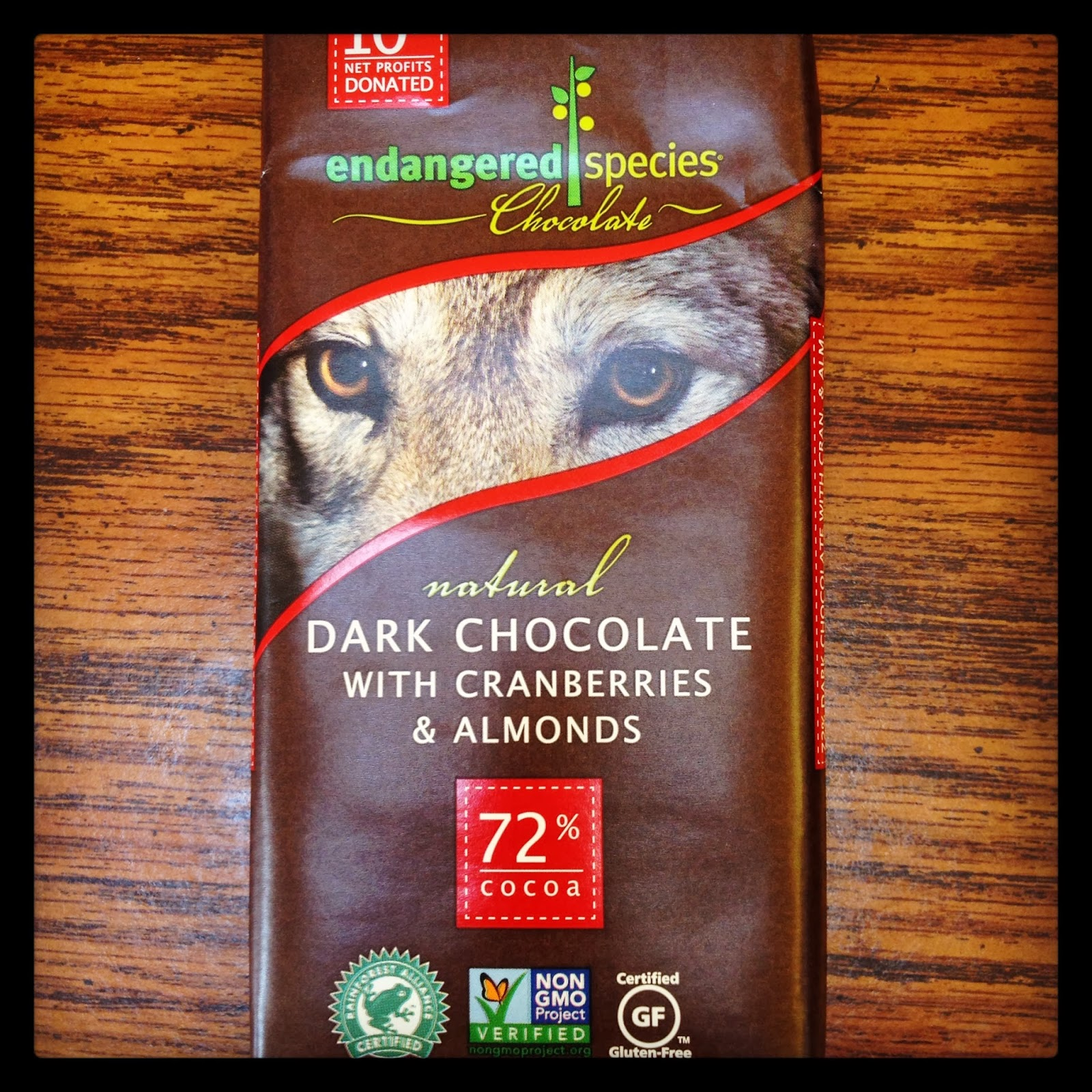 Non-GMO Certified Vegan Gluten Free Chocolate Bar
