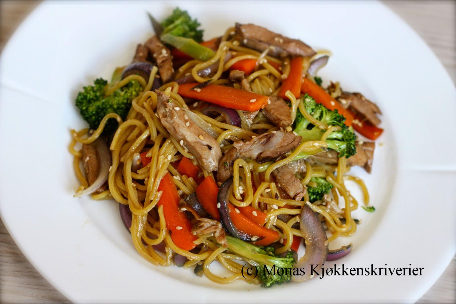 wok middag
