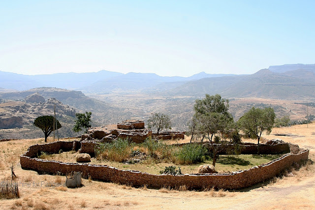 View from Debre Damos