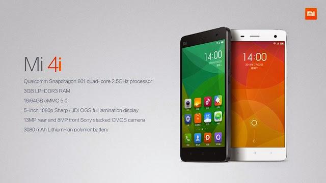 Xiaomi Mi 4i akan dijual bermula minggu hadapan