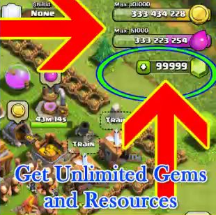 clash of clans free unlimited gems hack