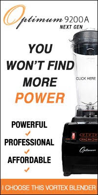 A Glug of Oil uses the Froothie Optimum 9200A Next Generation Power Blender