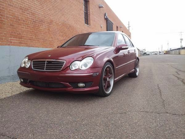 Real Amg 2002 Mercedes Benz C32 Supercharged Auto
