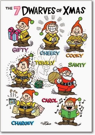 Seven Dwarves of Christmas