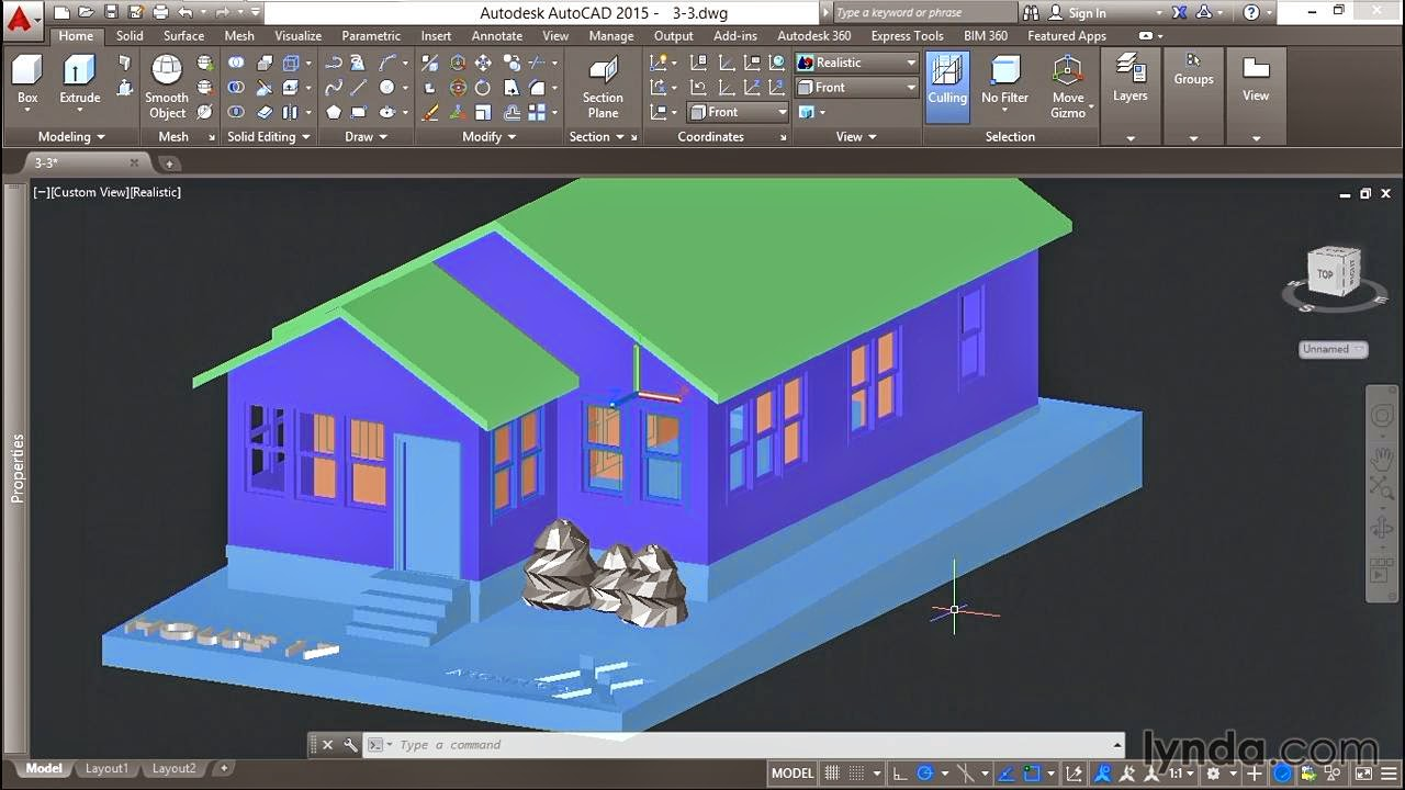 Autocad 2015 Tutorial Lynda 3d Printing A Scale Model