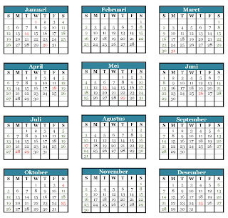Download Kalender 2013 Indonesia Gratis
