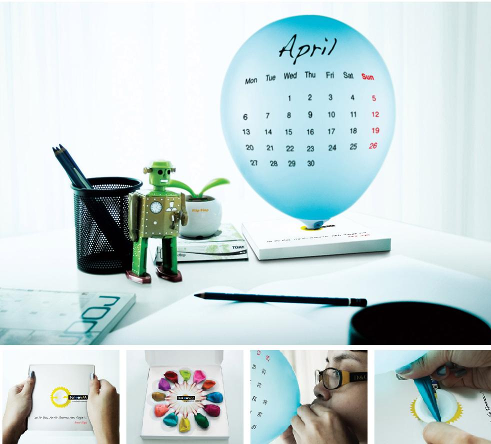 Unusual Calendar Design : Creative calendars and unusual calendar designs