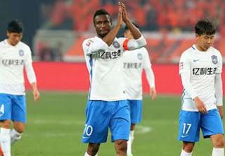 Obi Mikel set to leave China's Tiajin Teda for European club