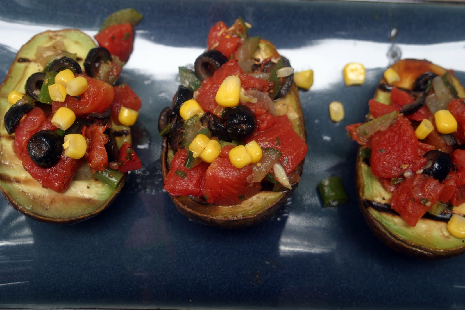 Grilled Avocados {Vegan} - VeggieConverter
