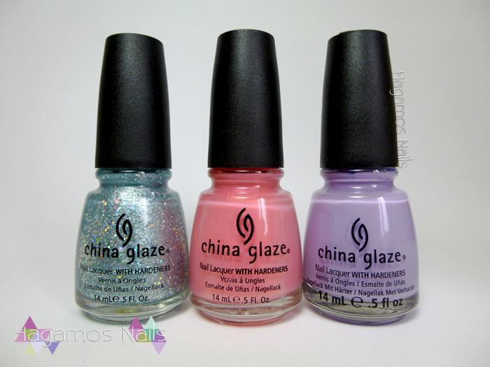 Sorteo 3 China Glaze. Cumpleblog. Hagamos Nails