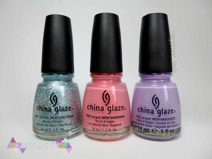 Sorteo 3 China Glaze. Cumpleblog. Hagamos Nails