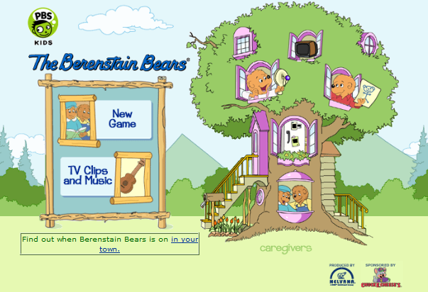 berenstain bears treehouse coloring pages - photo#32