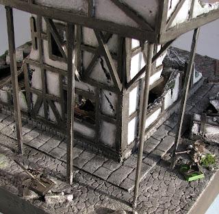 Mordheim makieta budynku