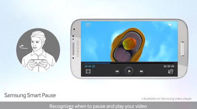 Samsung Galaxy S4 Smart Pause Feature
